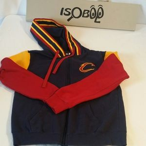 Cleveland Cavaliers Cavs Basketball Zip Up Hoodie